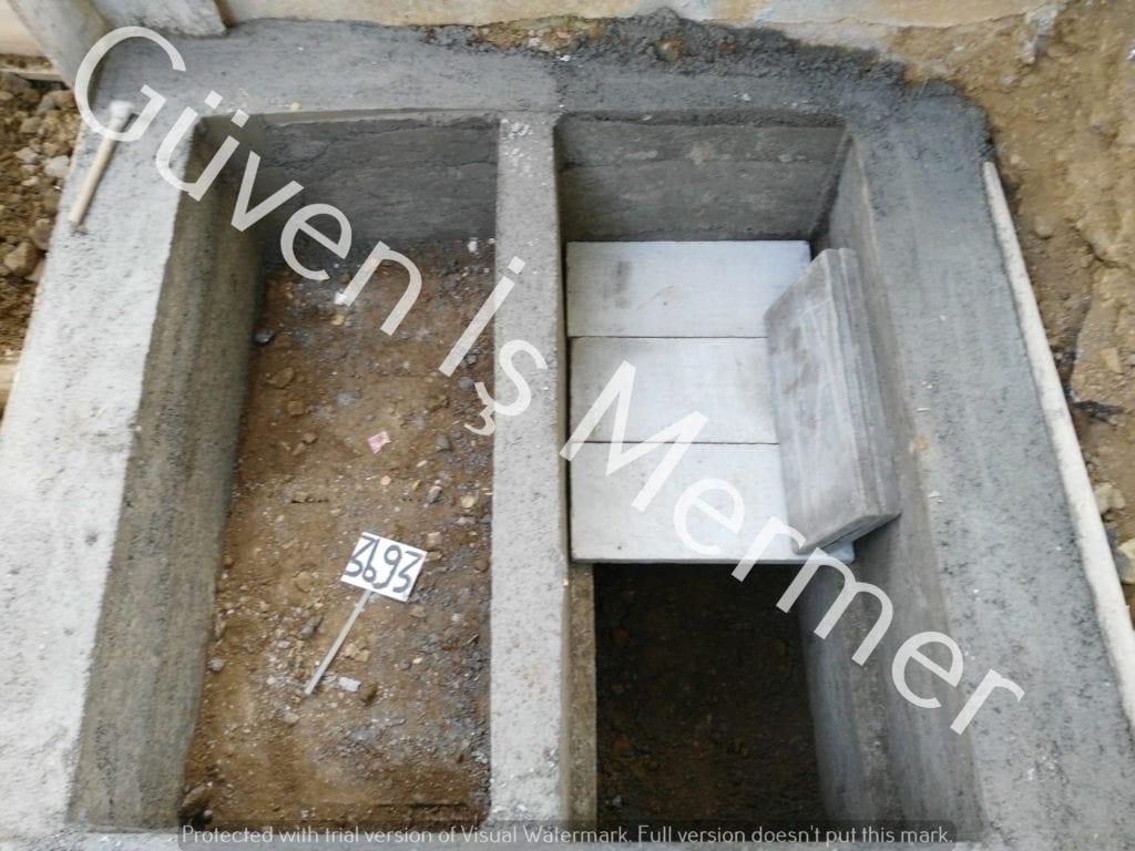 Lahit (katlı) Mezar